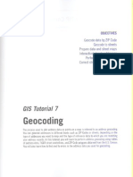 GIS Tutorial Updated for ArcGIS 9.3 - Tutorial 7 (pag 233 - pag 269)