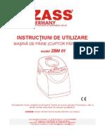 ZBM01 Manual Utilizare