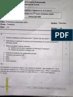 Examen de Passage 2005