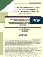 The African Brain Drain-dr Onsando