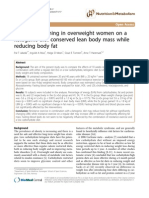 Ketogenic Diet on Overweight Women