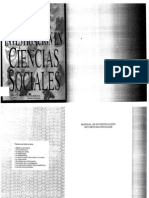 Capemhoudt Manual de Investigacion en Ciencias Sociales