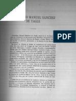 Antologia del Centenario. Sánchez de Tagle