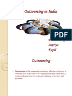 Outsourcing in India