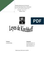 Las leyes de Kirchhoff ÑK