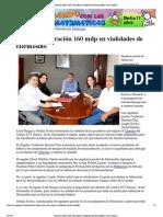 19-06-2013 INVERTIRA FEDERACION 160 MDP EN VIALIDADES DE HERMOSILLO