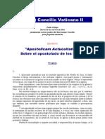 Concilium Vaticanum II Constitutiones Decretaque Omnia Es
