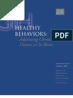 Healthy Behaviors Issue Brief