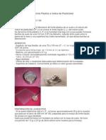 Determinacion Del Limite Plastico e Indice de Plasticidad