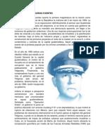 El general Ydígoras fuentes asume la primera magistratura de la nación como presidente constitucional de la República la mañana del 2 de marzo de 1958