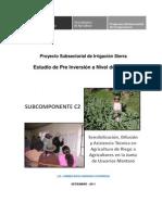 Perfil de Agricultura en El Mantaro