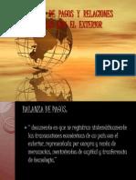 BALANZA DE PAGOS Y RELACIONES ECONÓMICAS