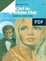 Girl in a White Hat - Rebecca Stratton