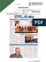 Informe de prensa semana del 14 al 21 de junio de 2013
