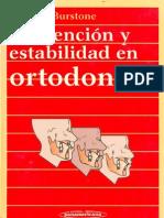 Contencion y Estabilidad en Ortodoncia - Nanda