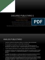 Discurso Publicitario 2