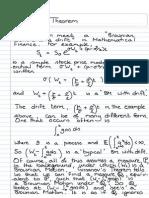 Girsanov's Theorem