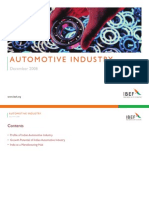 Indian Automotive Industry Presentation 010709