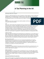 Shariah Tax Planning in the UK by Riyazi Farook