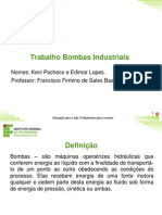 Bombas Indústriais apresentação final