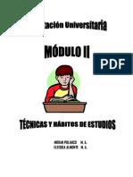 Tecnicas y Habitos de Estudio