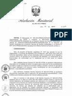Términos de  Referencia para la Elaboración de EIA de Proyectos de Inversión con caractéres comúnes de los Subsectores Industria y Comercio Interno
