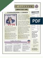 VFW Post 670 Newsletter