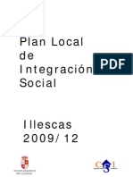 Plan Local de Integración Social . Illescas 2009-12