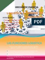 Gestion de Empresas Funciones Logisticas