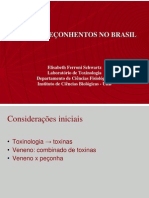 animais peçonhentos no Brasil