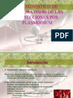 Diagnostico de Infecciones de Plasmodium Por El LabOratorio