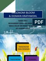 BMM 3103 Taksonomi Dan Domain