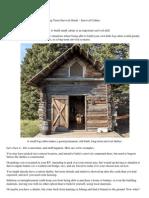A Long-Term Survival Guide - Survival Cabins