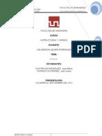 Estructuras y Cargas Trabajo Final