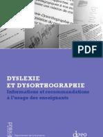 Brochure Dyslexie