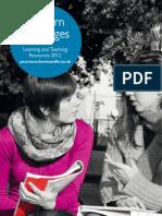 01 Modern Languages Catalogue 2012