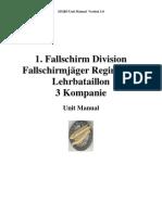 Unitmanual 1fallschrim Division