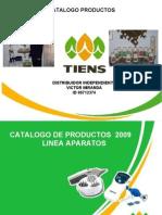 Catalogo Productos Tiens Colombia 2009
