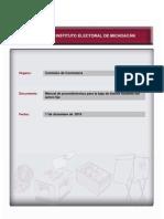 Manual de Procedimientos Para La Baja de Bienes Muebles Del Activo Fijo
