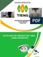 Catalogo  de Productos Tiens Bolivia 2009