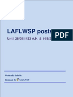 ÁRABE LAFLWSP Posts