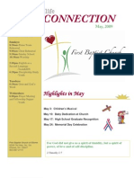 FBCNewsletter May 2009