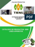 Catalogo de Productos Tiens México 2009
