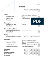Year 1 Term 3 Checklist
