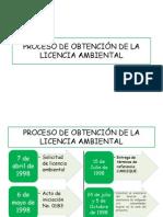 PROCESO DE OBTENCIÓN DE LA LICENCIA AMBIENTAL