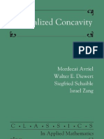 Generalized Concavity