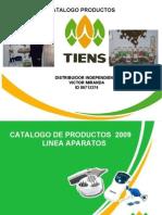 Catalogo de Productos Tiens Peru 2009