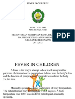 Ppt Fever in Children