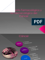 Tratamiento Farmacológico y no farmacológico del Cáncer
