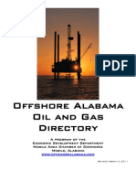 Offshore Alabama Oil and Gas Directory